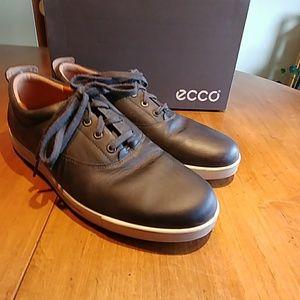 Ecco Shoes   Eisner Tie Dark Grey Size